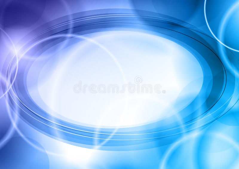 Blue background stock illustration