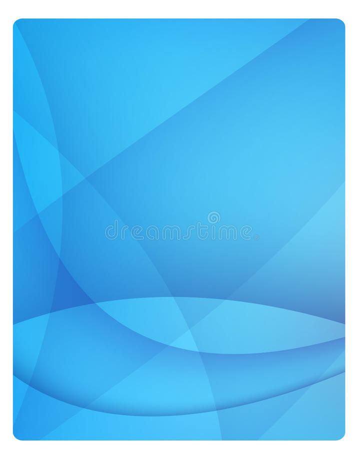Blue background. Blue abstract modern elegant background stock illustration