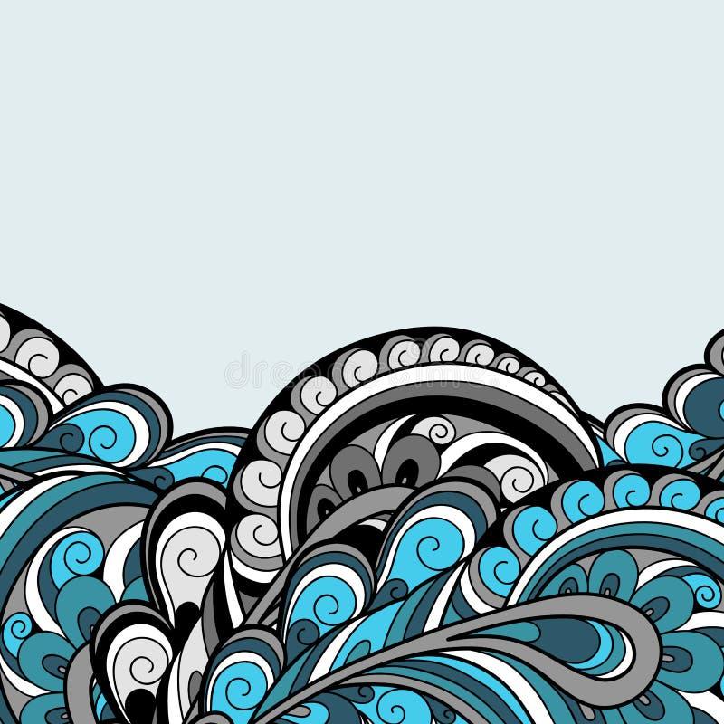 Download Blue background stock vector. Image of design, background - 31950011