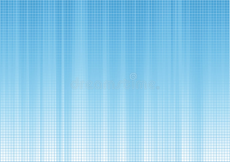 Blue background composition stock illustration