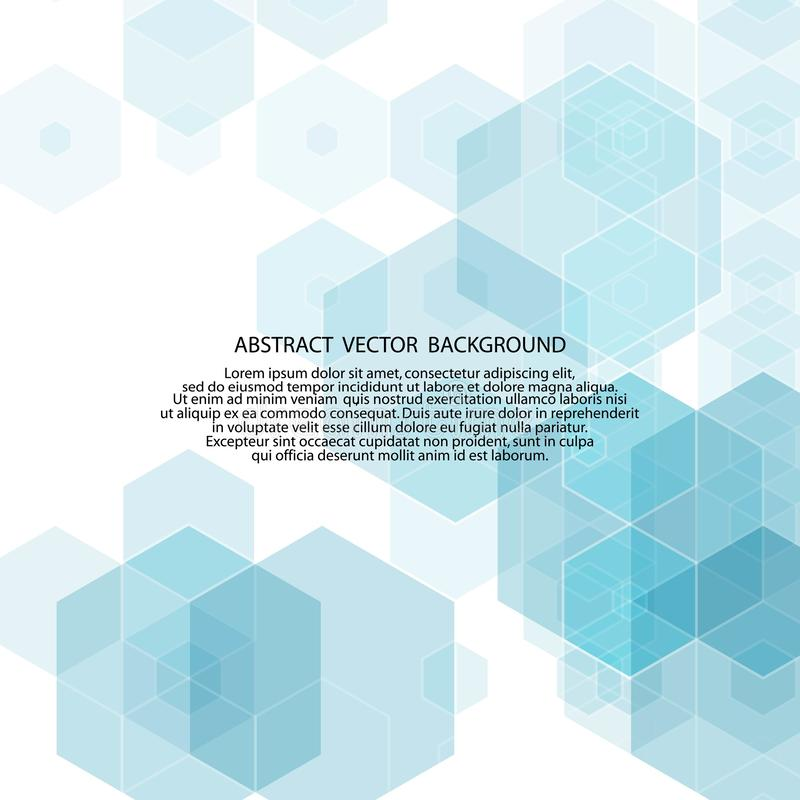 Blue background of hexagons. polygonal style. vector illustration. eps 10. Blue background of hexagons. polygonal style. vector illustration polyhedrons science royalty free illustration