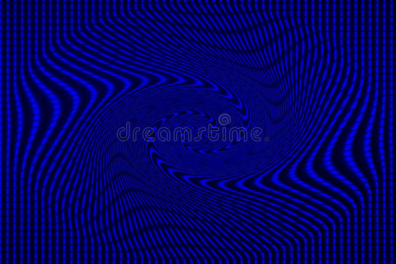 Blue background from line set abstract representation of pattern and destruction. royalty free stock photos
