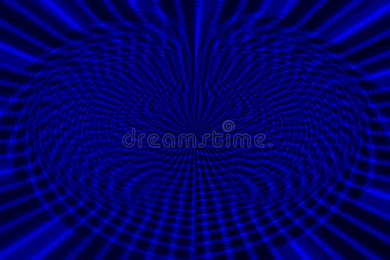 Blue background from line set abstract representation of pattern and destruction. royalty free stock image