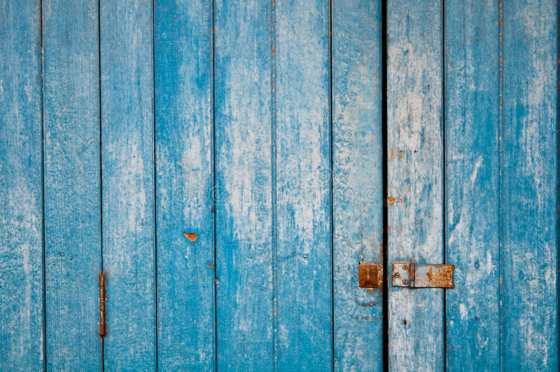 The blue background made from wood royalty free stock images