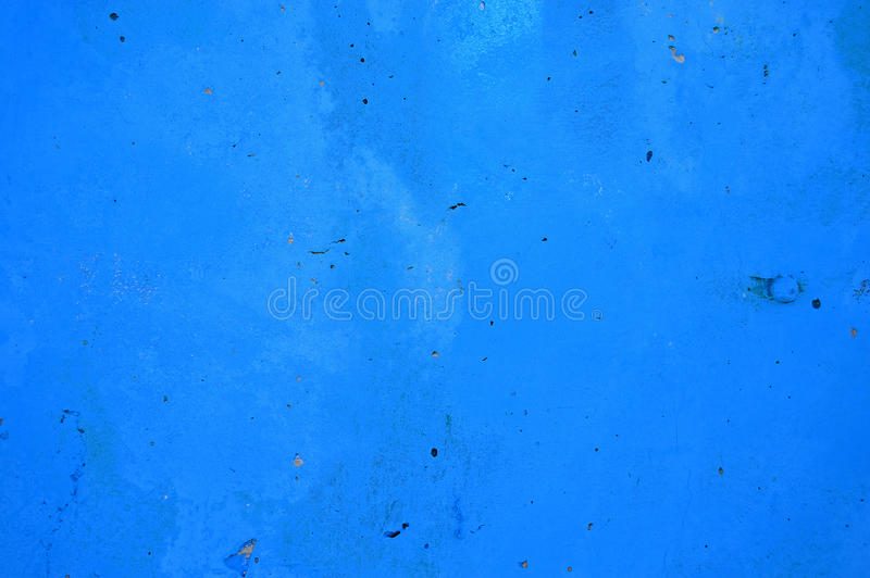 Blue Background painted On Concrete stock photo