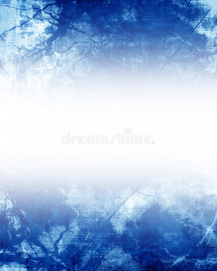 Blue background. With some soft shades and highlights royalty free illustration