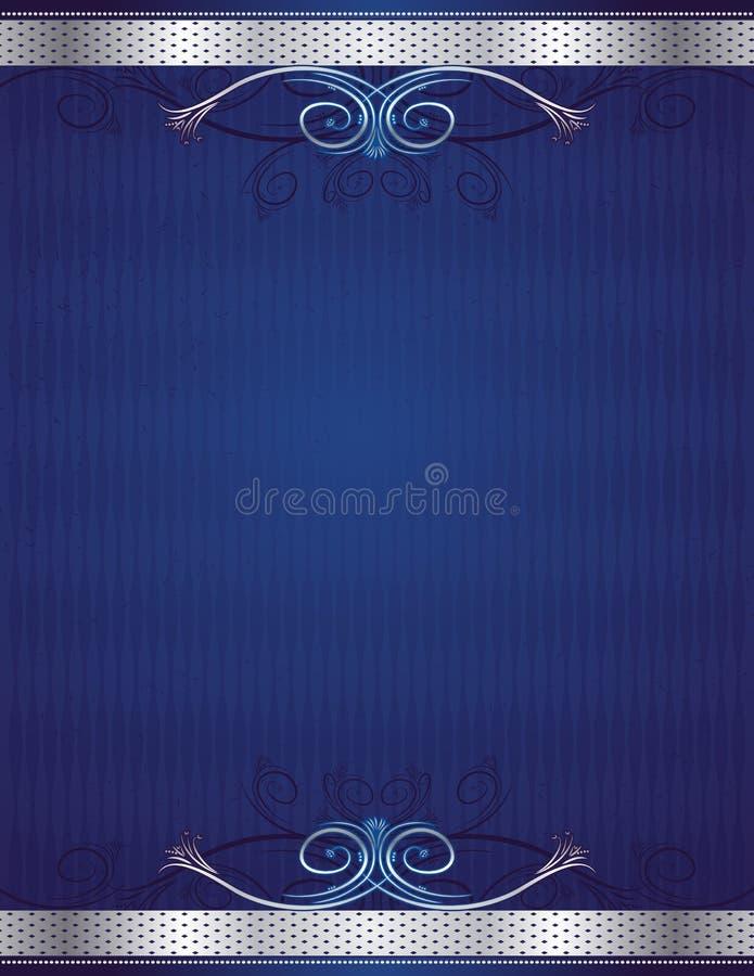 Blue background, vector royalty free illustration