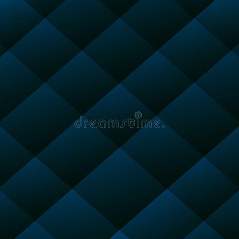 Blue background vector overlap layer on dark space for background design royalty free illustration