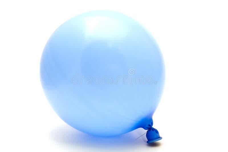 Blue ballon royalty free stock images