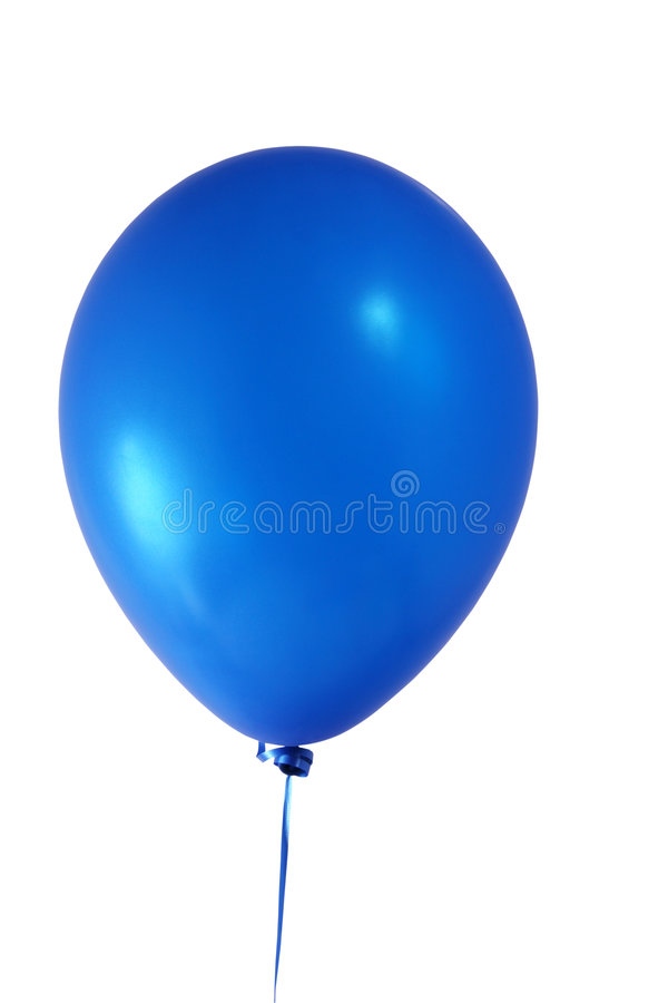 Download Blue balloon stock photo. Image of clipping, decoration - 1369916