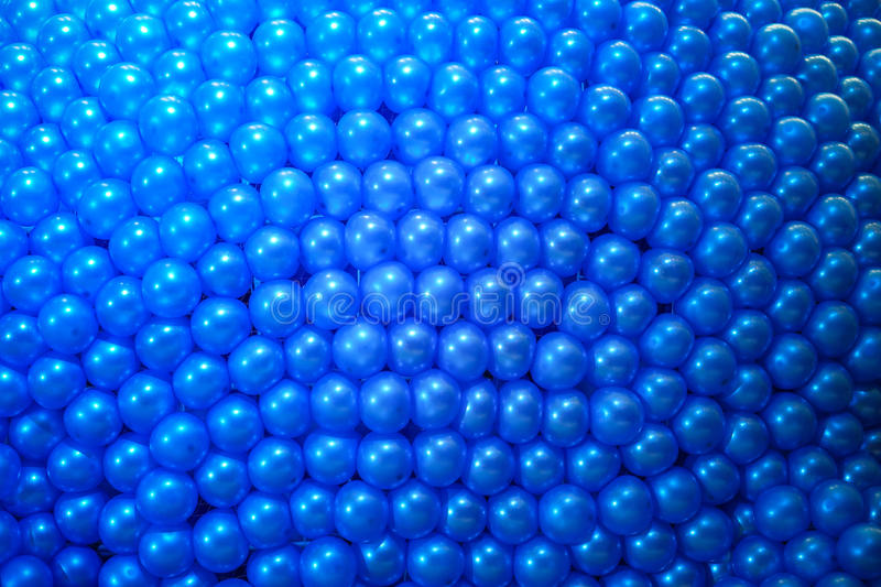 Blue balloon background. For design and decoration stock image