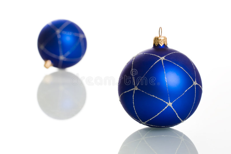 Download Blue balls stock image. Image of party, bubble, christmas - 3843831