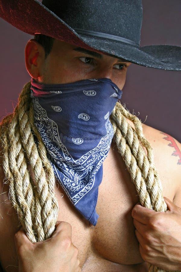 Blue bandana stock photo