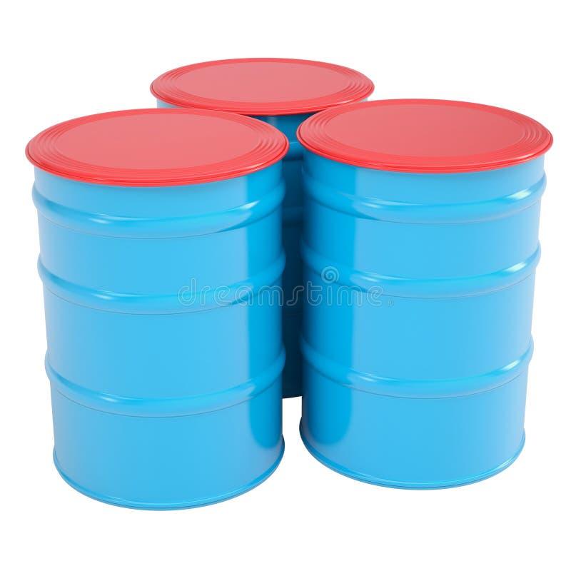Download Blue barrel stock photo. Image of diesel, black, delivery - 29932356