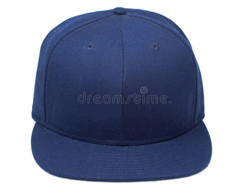 Blue Baseball Cap Stock Image