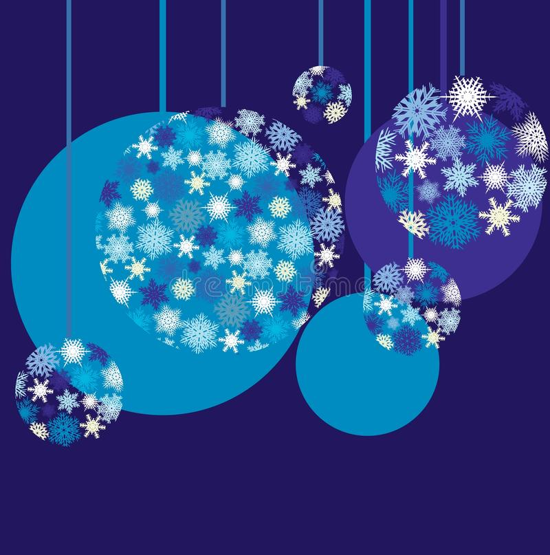 Free Blue Baubles Royalty Free Stock Photography - 12088007