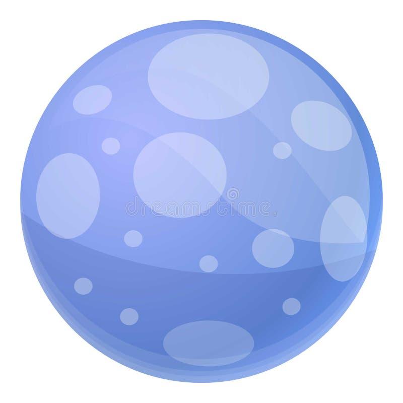 Free Blue Beach Ball Icon, Cartoon Style Stock Photos - 139150493