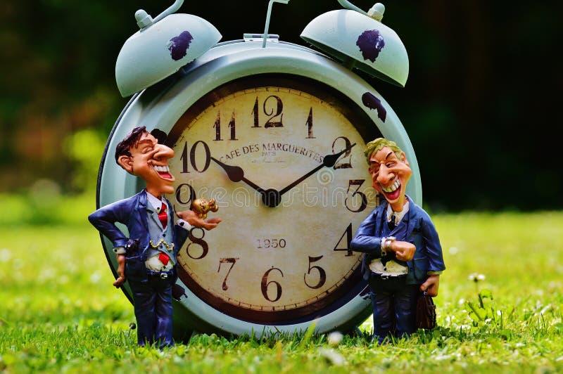 Blue Bell Alarm Clock stock image
