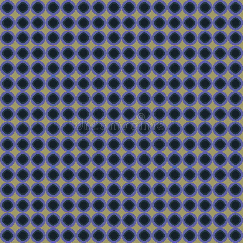 Download Blue And Biege Circle Pattern Stock Photography - Image: 6023762