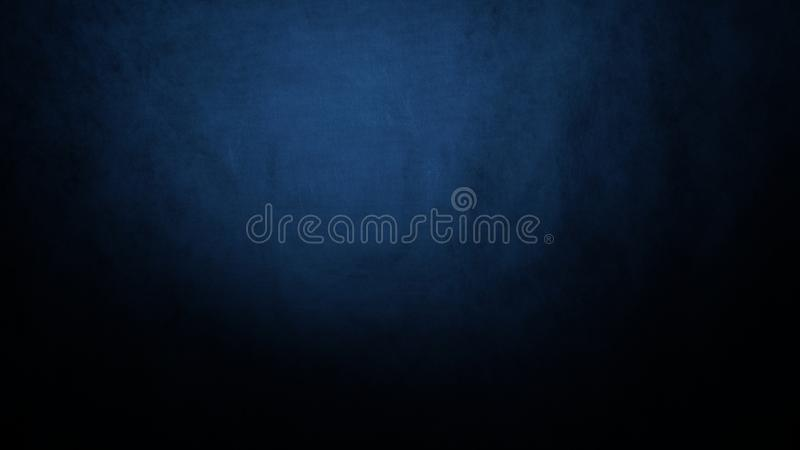 Blue black abstract background blur gradient royalty free stock photos