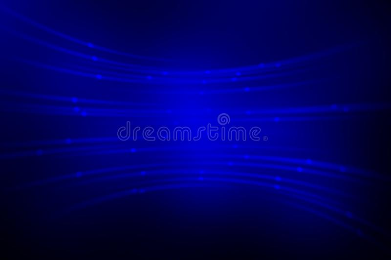 Blue light line abstract background, motion blur royalty free illustration