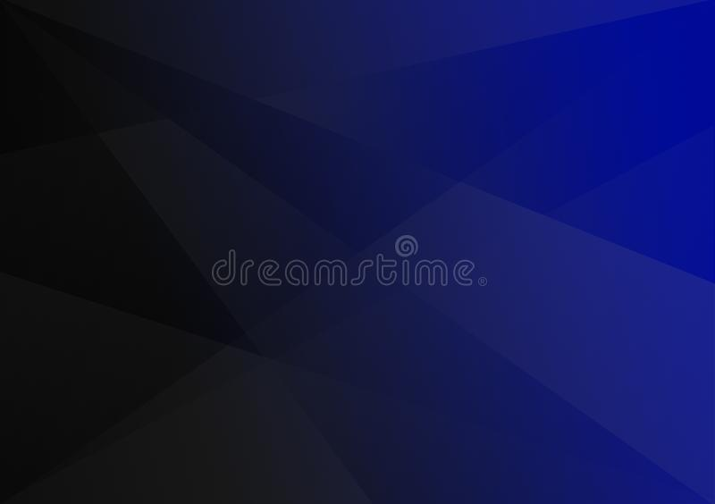 Blue-black linear shape background gradient background. For use with design stock photography