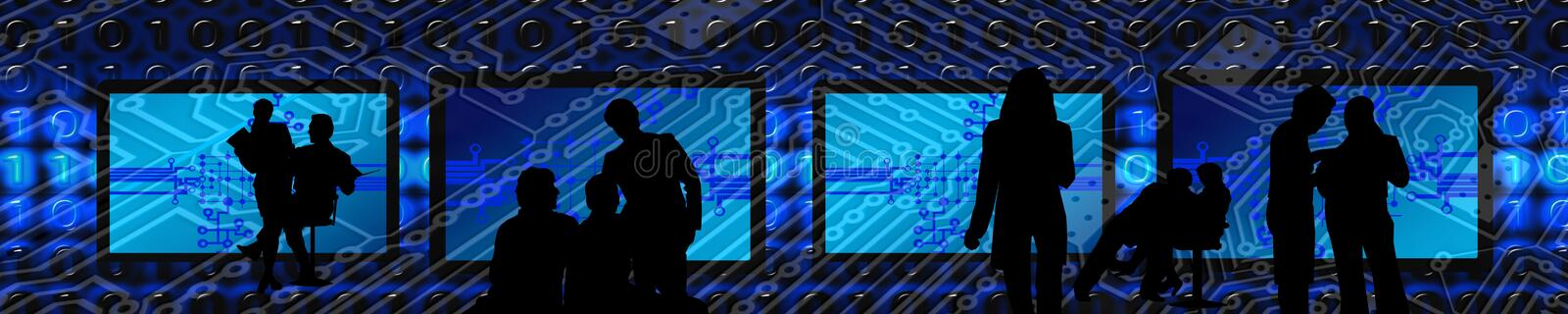 Blue, Black, Stage, Purple stock photography