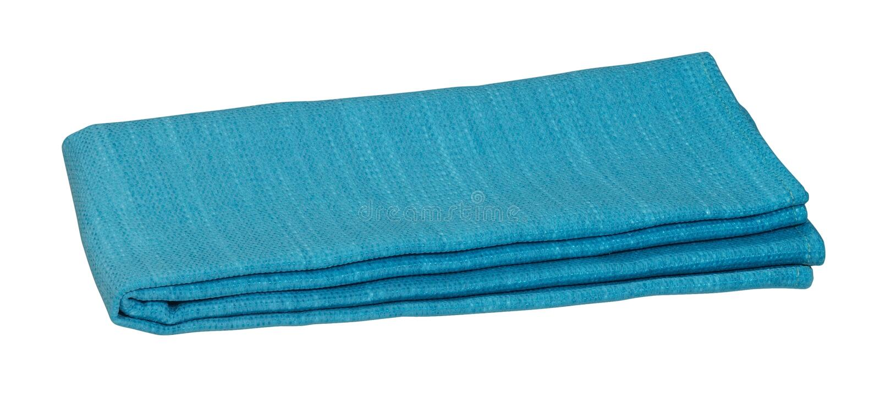 Blue Blanket Stock Image
