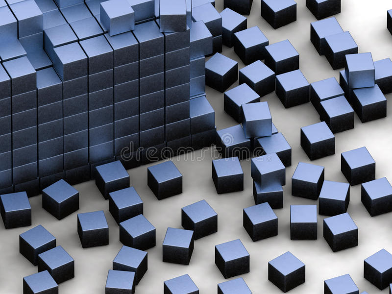 Blue Blocks Stock Photos