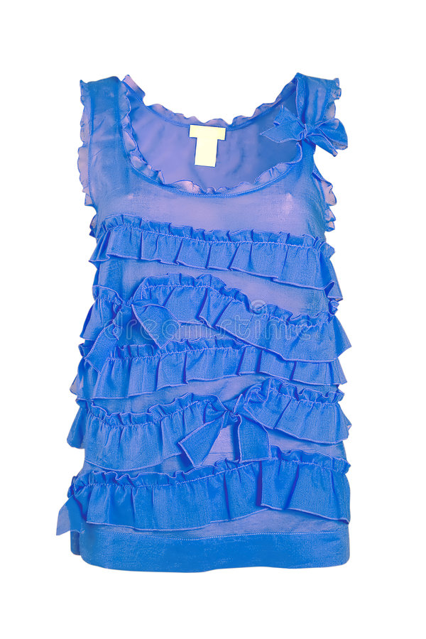 Free Blue Blouse Royalty Free Stock Photography - 8572167