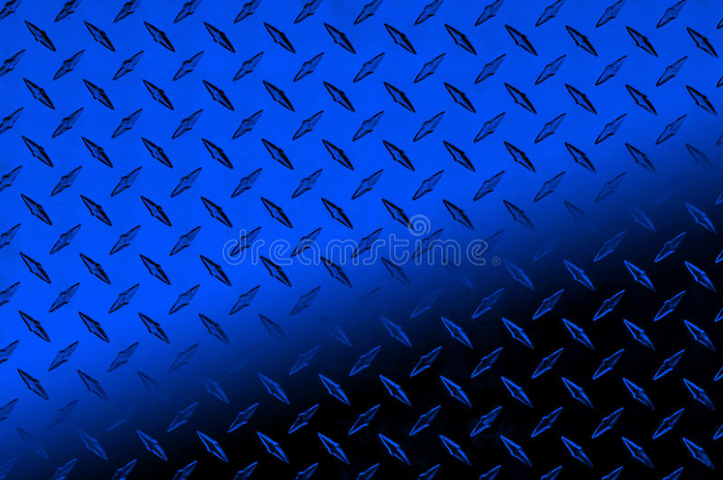 Blue And Blue Diamond Plate Stock Photo Image 11265706