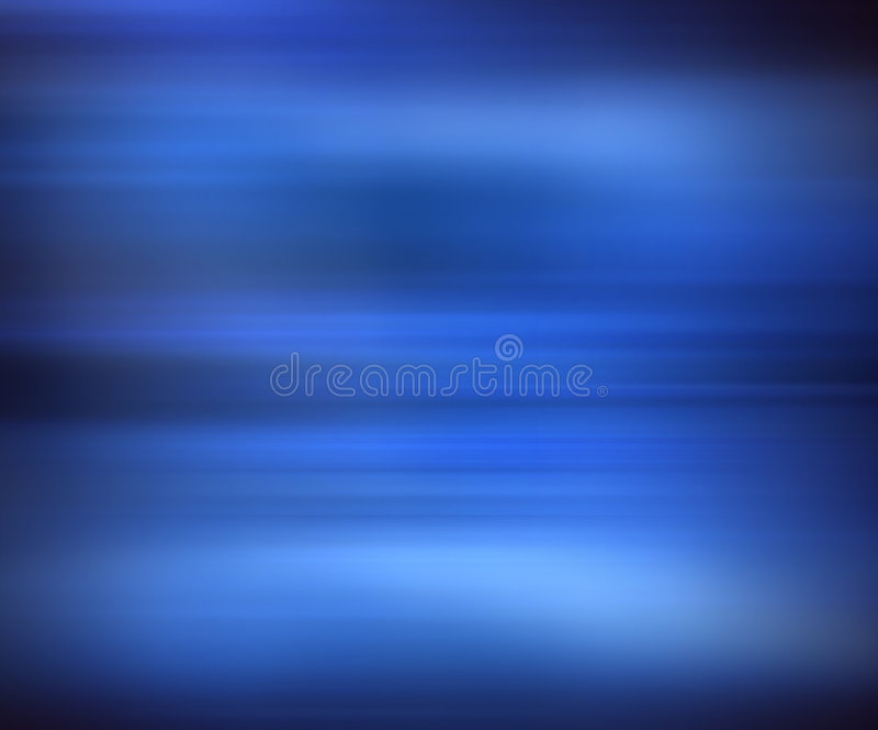Blue Blur stock illustration