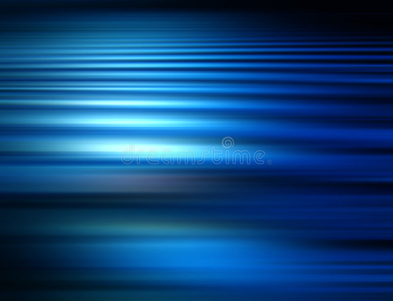 Blue Blur. Background royalty free illustration