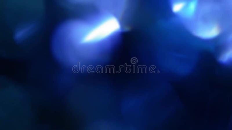 Blue, Blurred, Bokeh Lights Background-1080p Loop Stock Video