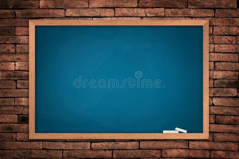 Blue board stock images