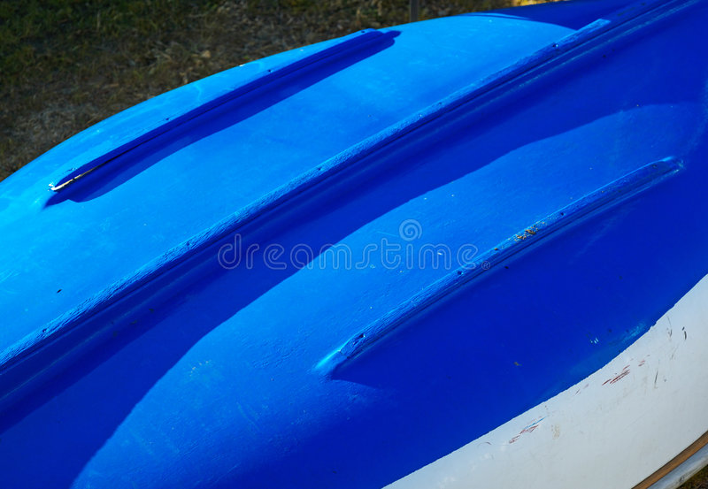 Download Blue Boat Hull abstract stock photo. Image of down, abstract - 2894722