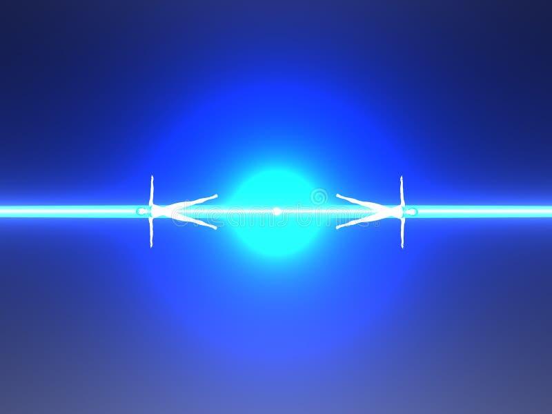 blue bodies human power ray ελεύθερη απεικόνιση δικαιώματος