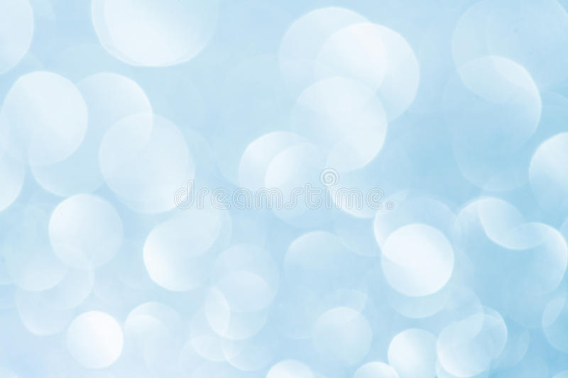 Blue bokeh abstract light background. Blue bokeh abstract light sea sky background