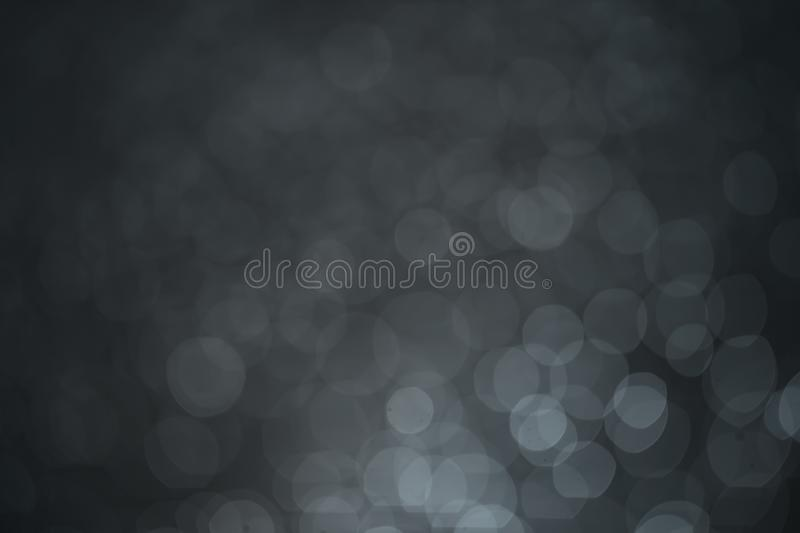 Blue bokeh light dot for background royalty free stock photography