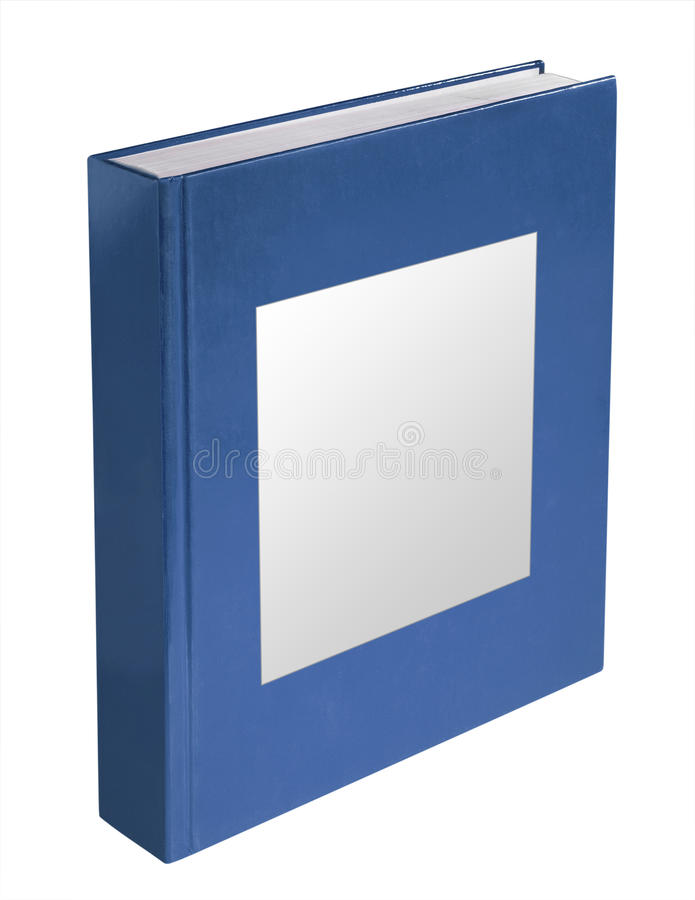 Blue book, isolated stock images