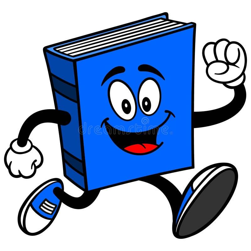 Blue Book Running stock illustration