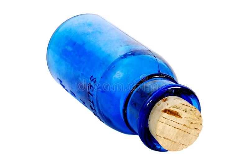 Blue Bottle stock photography