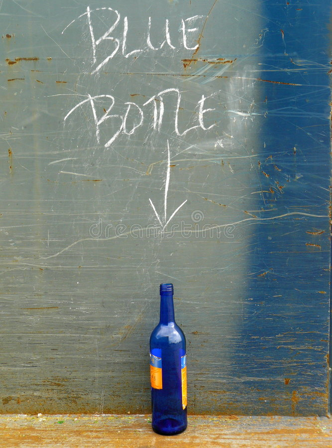 Free Blue Bottle Stock Images - 6258864