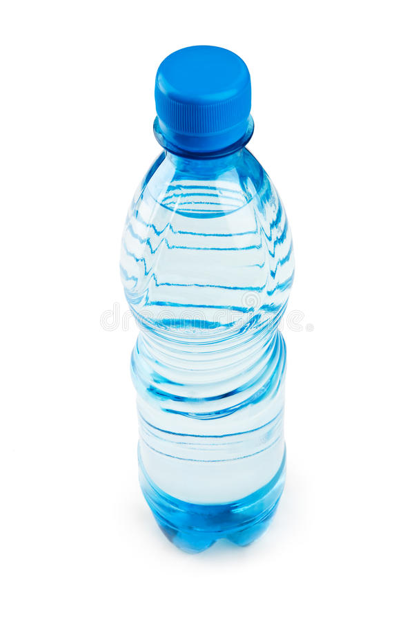Blue Bottle A Kind With Top Royalty Free Stock Photo