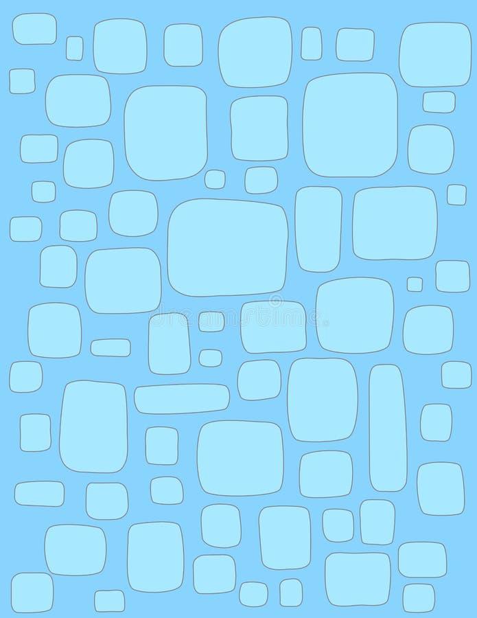 Blue box background stock images
