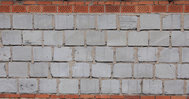 Download Blue Breeze Block And  Brick Wall Stock Image - Image: 13156797