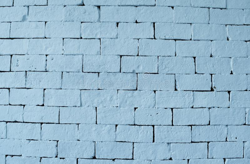 Download Blue Brick Wall Background Stock Image Of Solid