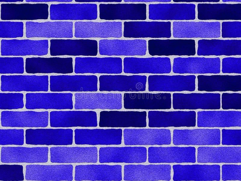 Download Blue Bricks Pattern stock illustration. Image of vibrant - 1648267