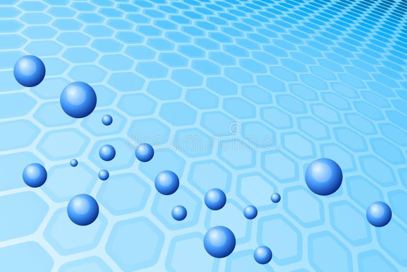 Blue Bubble vector illustration