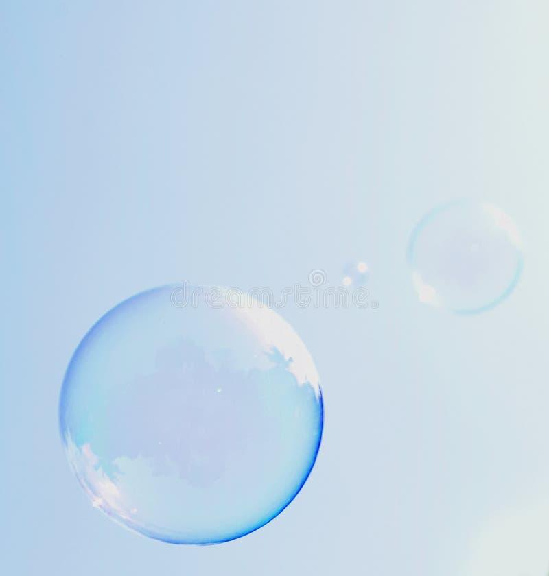 Blue bubble stock photos